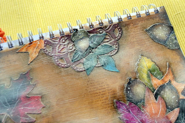Dreams of Autumn & Time and Place_ Thanksgiving Blessed Art Journal Page_Denise_21 Nov 06