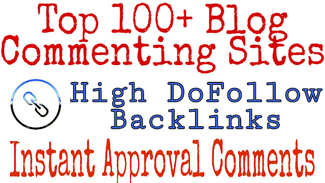 Get 100+ DoFollow Backlink Sites List