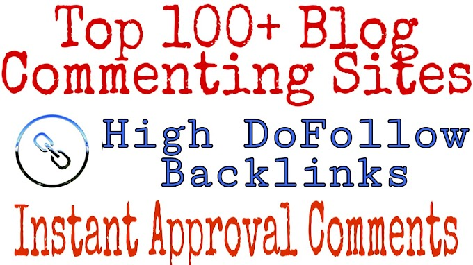 Get 100+ DoFollow Backlink Sites List In Hindi