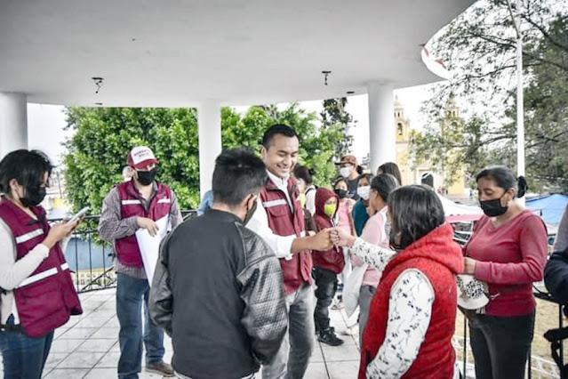 Sigue firme candidatura De Roberto Solís en el distrito VIII
