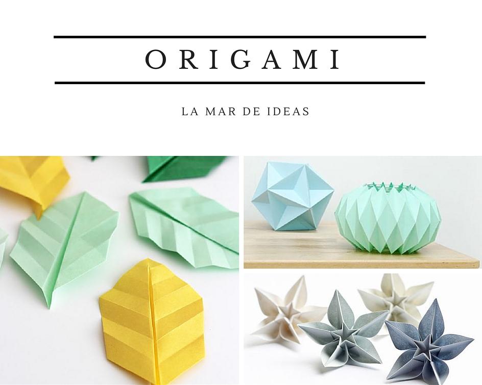 La Mar de Scrap: LMdI32: Origami