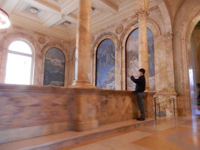 visite de la Boston Public Library