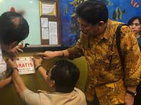 Monitoring Alat Perekam Transaksi , KPK Turun Bersama Bapenda Makassar