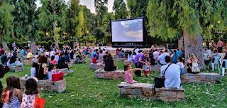 Κινηματογραφικές Αυγουστιάτικες βραδιές στο Άλσος Περιστερίου