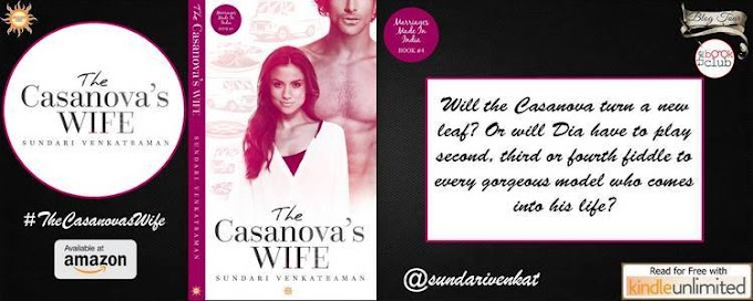New Blog Tour: THE CASANOVA'S WIFE by Sundari Venkatraman