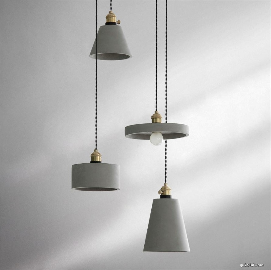 Lampu gantung hias modern minimalis