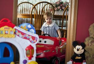 Birthday bonanza for sick toddler