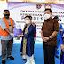 Gubernur Ansar Menghadiri Penyerahan Bantuan Paket Sembako kepada Pekerja Pelabuhan di Bintan