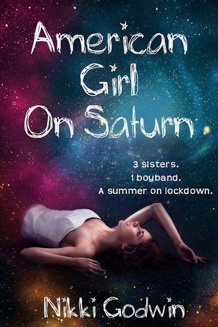 **COVER REVEAL** American Girl On Saturn by Nikki Godwin