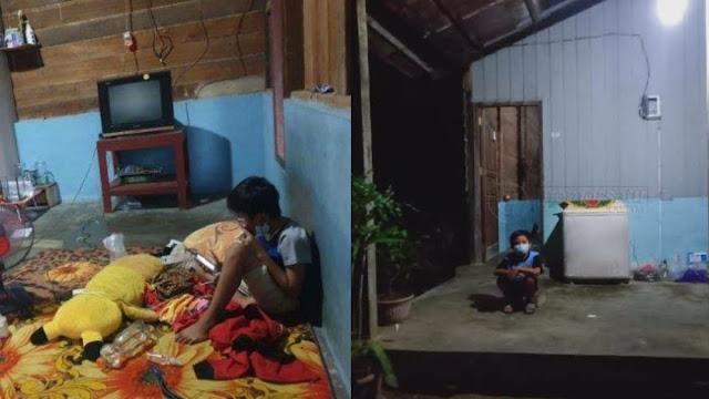 Ayah dan Ibu Meninggal karena Covid, Bocah SD Isolasi Mandiri Seorang Diri di Rumah