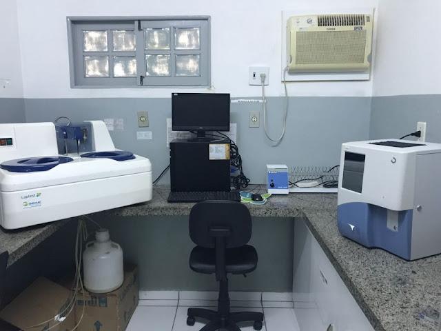 Novos aparelhos laboratoriais são adquiridos pela Prefeitura de Piranhas