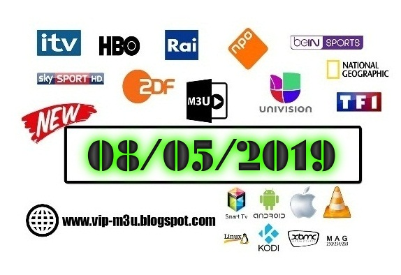 Daily M3u Playlist & VoD Movies 8 May 2019 (New) - Daily Worldwide