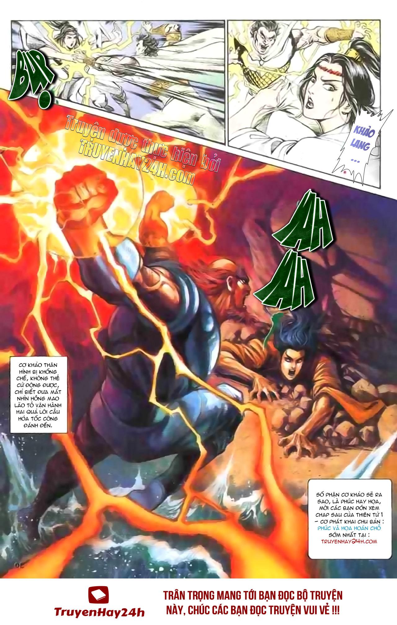 Cơ Phát Khai Chu Bản chapter 129 trang 34