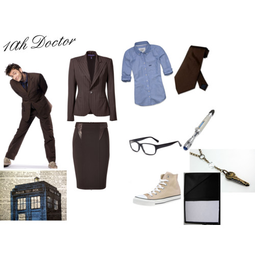 Tenth Doctor Slye Collection Back to School Outfits. Available Now.