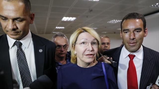"""Exfiscal venezolana llega a Brasil para revelar """"corrupción"""""""