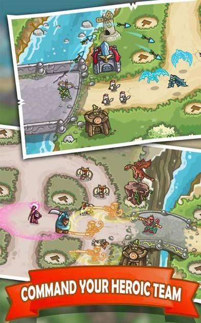 Game Strategy Offline Android Kingdom Defense: Hero Legend TD MOD