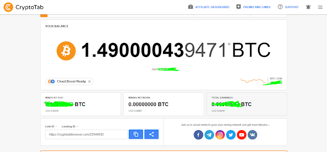 Get a Free 100% Bitcoin Mining just Download app and Create an Account.