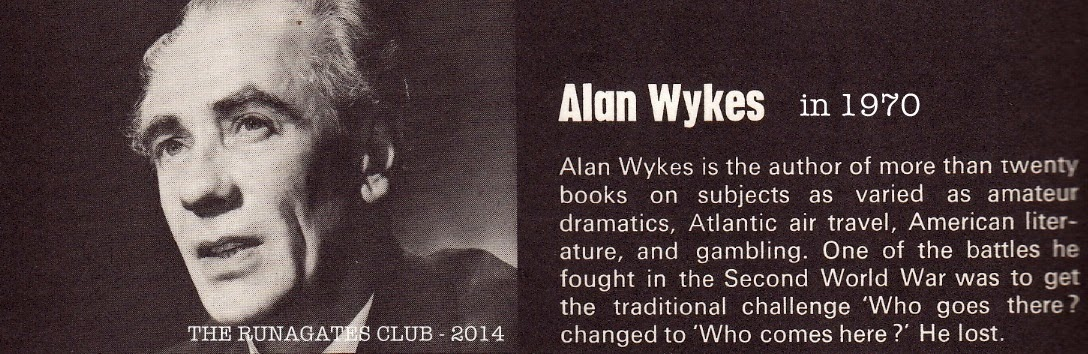 Alan Wykes, author of HITLER, published by Ballantine, 1971