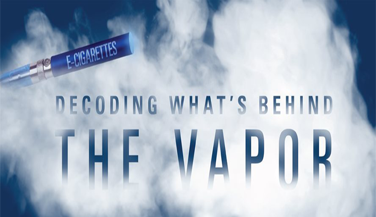 Decoding What's Behind The Vapor #infographic
