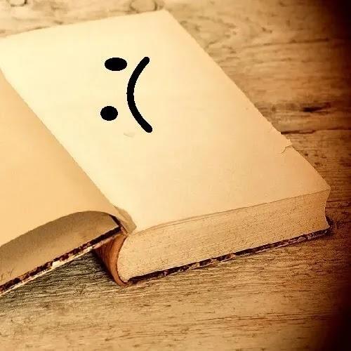 sad book Dp for girls