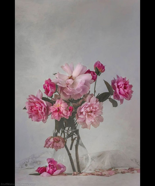 Roses from the garden. (Photo by SUE OAKFORD):