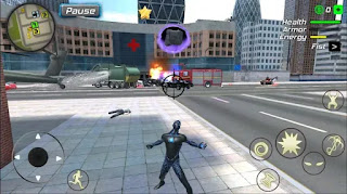 Black Hole Hero : Vice Vegas Rope Mafia apk mod