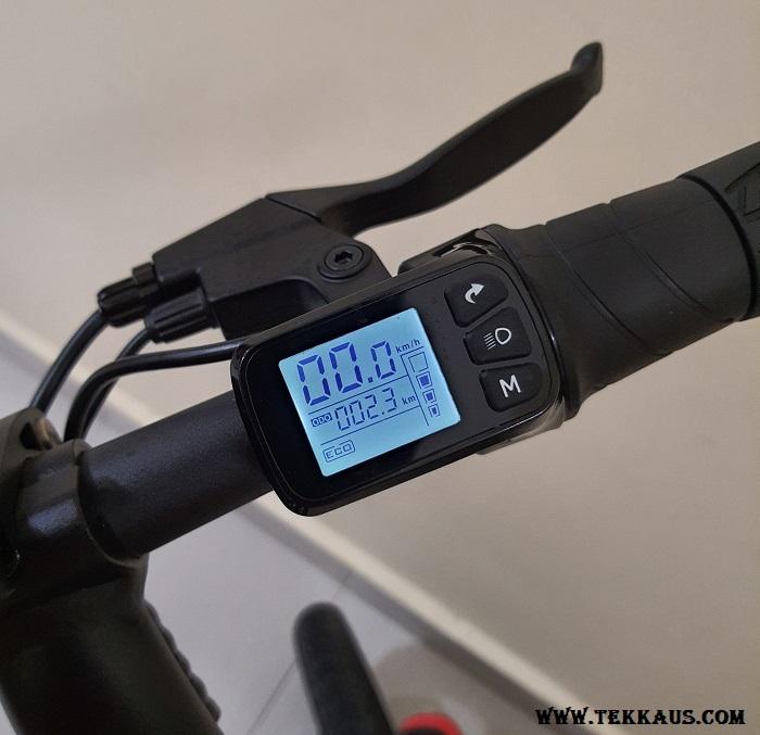 DYU D3+ Electric Bike LCD Dashboard Cluster Control