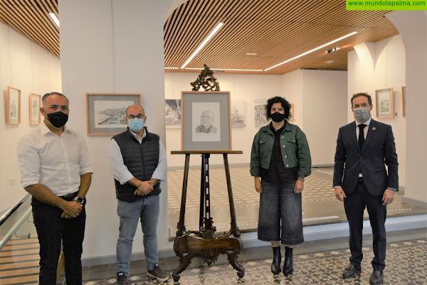 La exposición 'Bonita', de Alexis González, rinde homenaje a Don Francisco de Asís Leal Páez