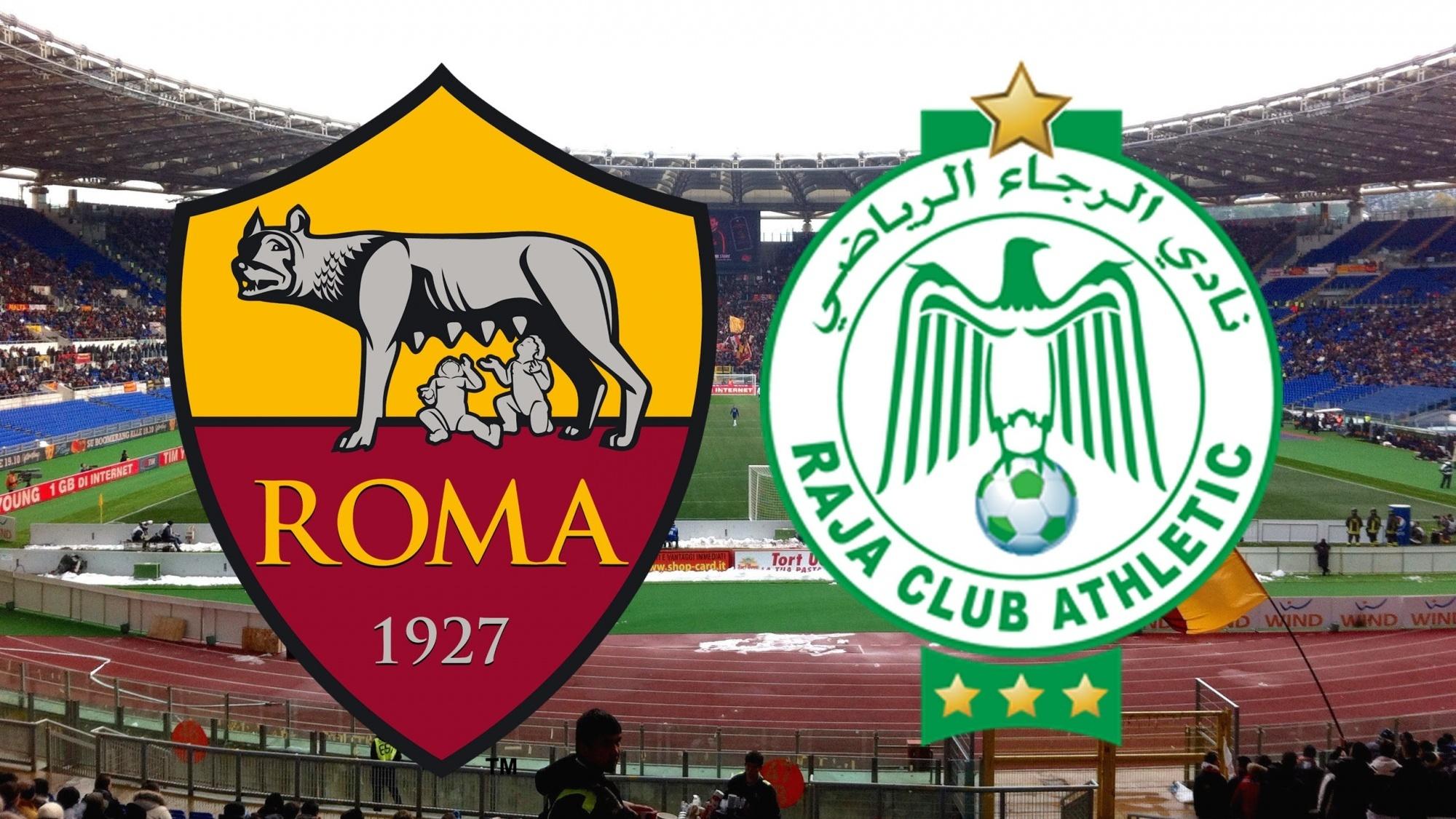 مباراة روما والرجاء اليوم