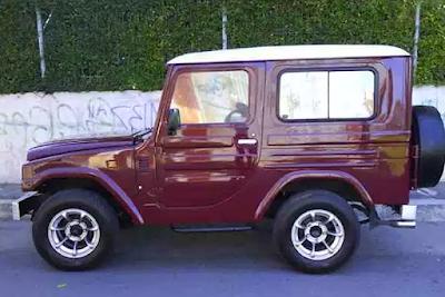 Eksterior Daihatsu Taft Kebo / Badak Tampak Samping