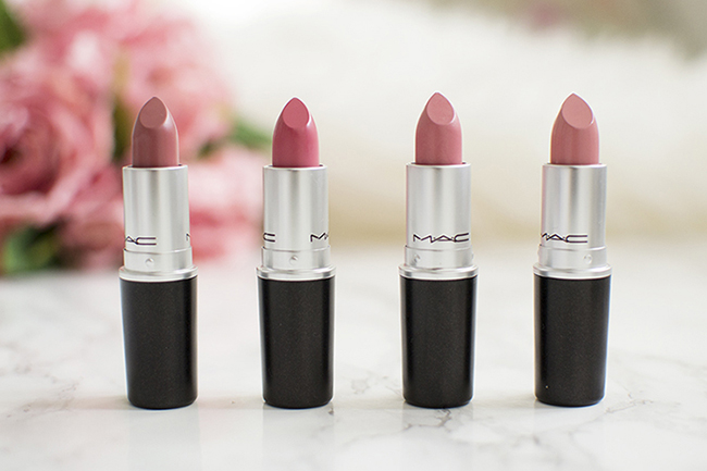 MAC Lipsticks - Creme Cup, Angel, Please Me, Faux