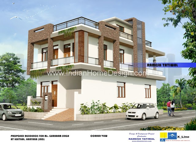 north indian home design
