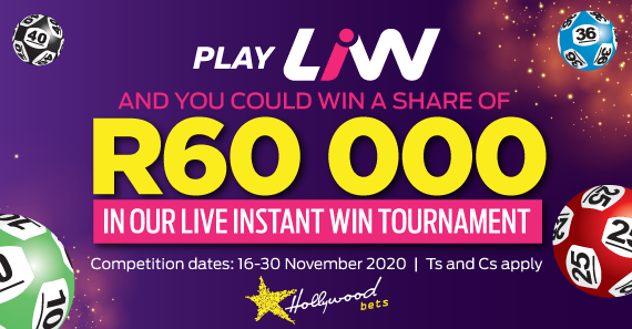 Live Instant Win: Tournament