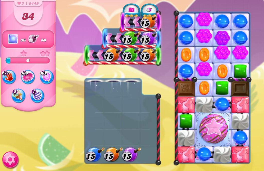 Candy Crush Saga level 8449