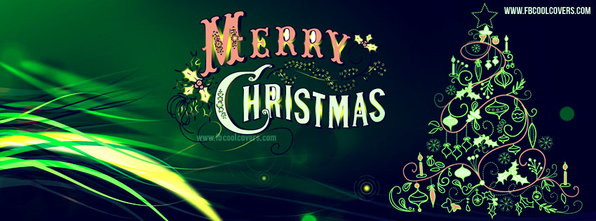 Ảnh bìa Noel đẹp cho Facebook Timeline - Merry Christmas Facebook cover