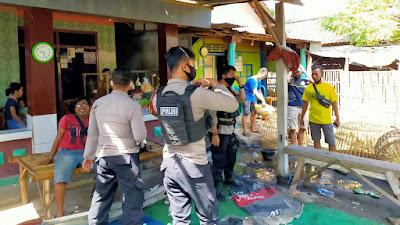 Sabhara Polres Situbondo Gerebek Judi Sabung Ayam di Desa Tribungan