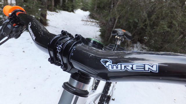 Fatbike Republic Wren Sports Cargo Rack Fat Bike carbon bars