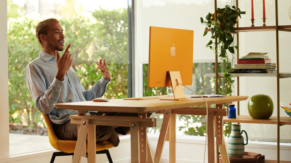 Apple introduced an all-new iMac