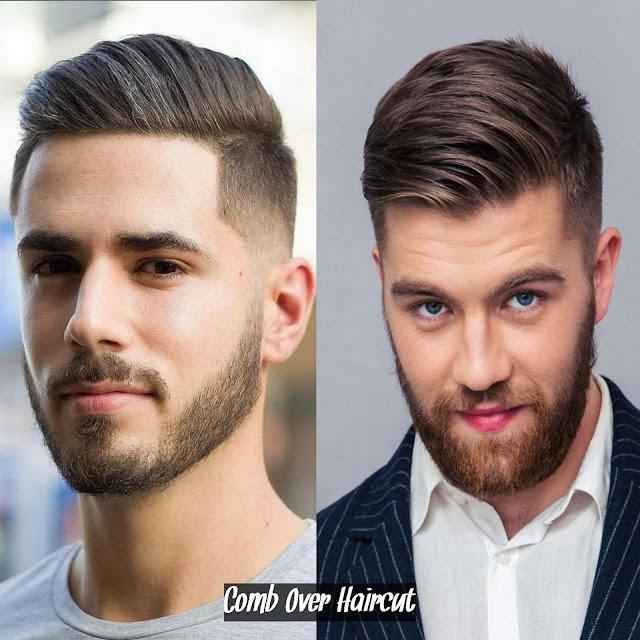 Potongan rambut pria comb over