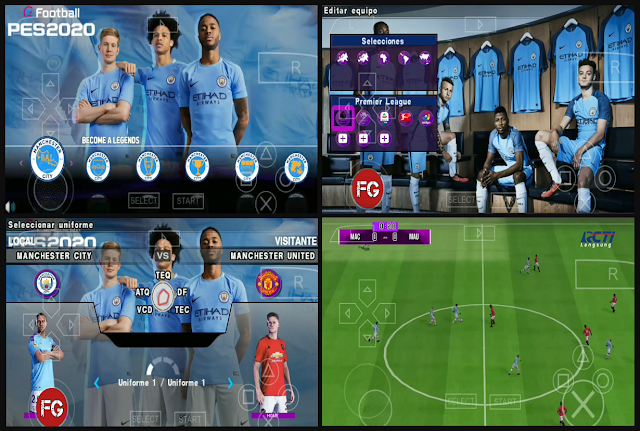 Download PES 2020 PPSSPP Chelito JBW PES Official Camera PS4 PSP Games for Android