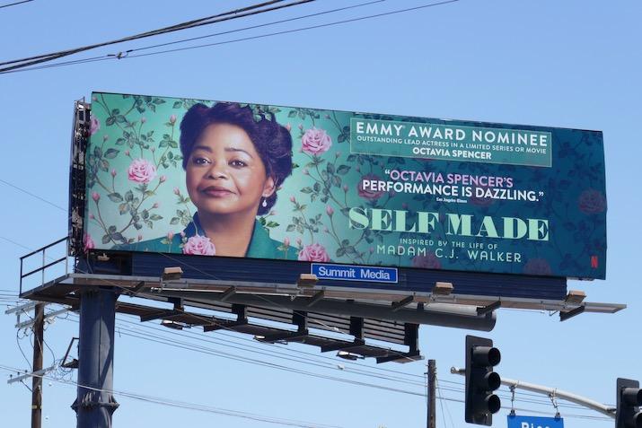 Octavia Spencer Self Made 2020 Emmy nominee billboard