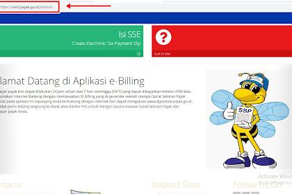 Cara Membayar Pajak Secara Online (E-Billing Pajak)