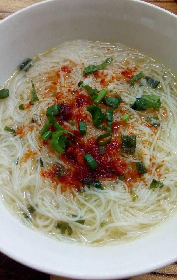 resepi bihun   mudah  sedap akubahrain Resepi Sup Ayam Kiub Maggi Enak dan Mudah