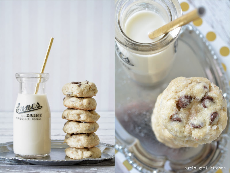 Almond Chocolate Chip Cookies