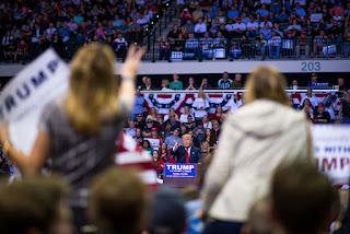 Donald Trump rally at USF Tampa