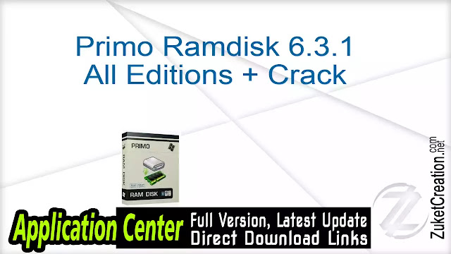 Primo Ramdisk 6.3.1 All Editions + Crack