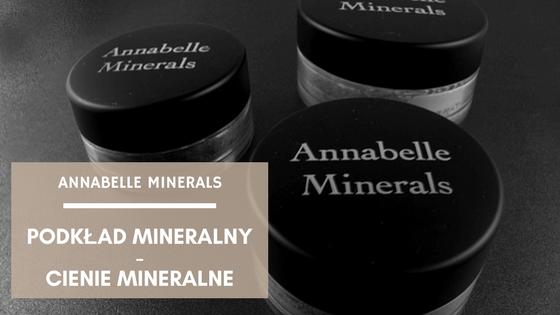 podkład mineralny Annabelle Minerals natural fairest cień chocolate cappuccino