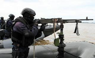 TNI Lakukan Operasi Laut