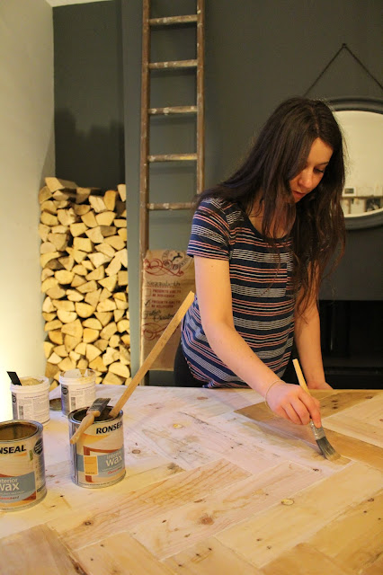 Ronseal Wax Rustic Pine