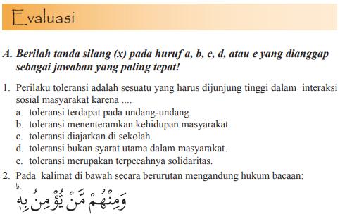 Jawaban Pg Evaluasi Bab 11 Pai Halaman 194 Kelas 11 Bastechinfo
